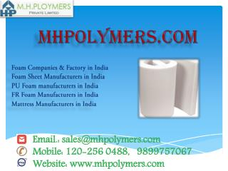 best foam sheet manufacturers in Delhi, India