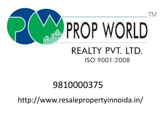 Resale Property In Noida