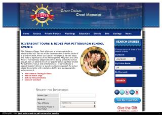 Riverboat Tours & Rides For Pittsburgh Schools Events