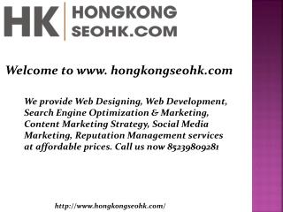 SEO Services Hong Kong