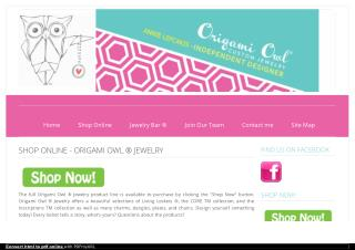 Shop Online Origami Owl Jewelry - Living Lockets By Independent Designer of Origami Owl® Jewelry