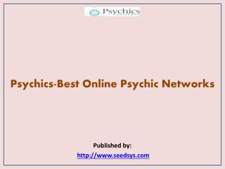 Psychics-Best Online Psychic Networks