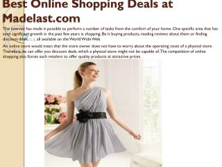 best online shooping deals