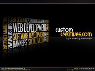 Digital Marketing Agency - Custom Creatives
