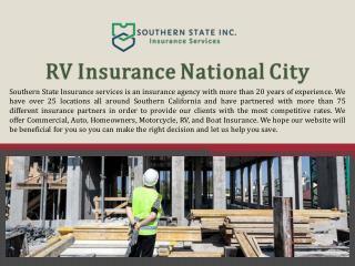 RV Insurance National City