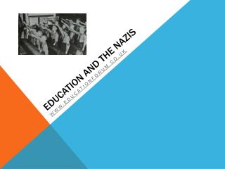 Education and the Nazis