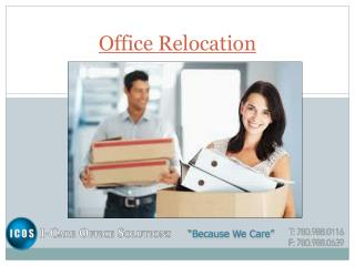 Office Relocation By I-CareOfficeSolution