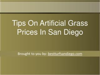 Tips On Artificial Grass Prices In San Diego