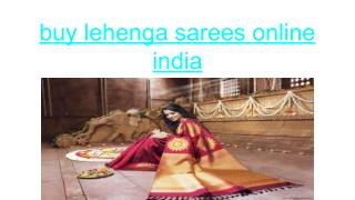 The middleclass wore shorter lehengas whereas the richer class wore very long lehengas.