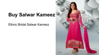 salwar kameez for wedding party in 2015