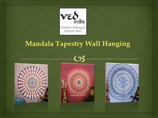Ethnic Round Mandala Tapestry Bohemian Wall Hanging
