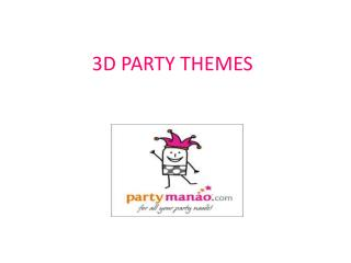 Theme Party Supplies online India, Themed Birthday Party Supplies
