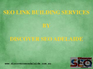 Link Building Company in Adelaide
