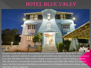 hotel blue valley