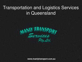 Transportation and Logistics Services in Queensland