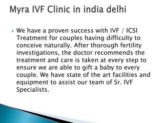 Myra IVF Clinic in india delhi