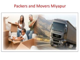 Packers and Movers Miyapur