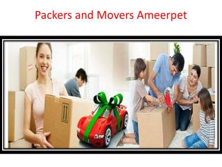 Packers and Movers Ameerpet