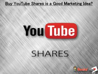 Buy YouTube Shares – Promote Videos