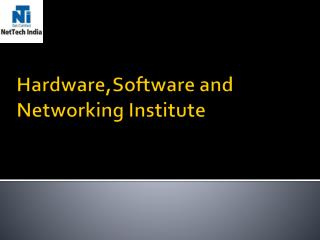 Hardware and Networking Certification Courses Training