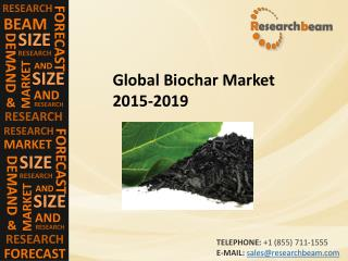 Global Biochar Market Size, Shares, Strategies, and Forecasts 2015-2019