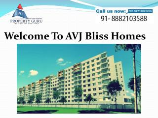 AVJ Bliss Homes,2Bhk Flats, Indirapuram Ghaziabad