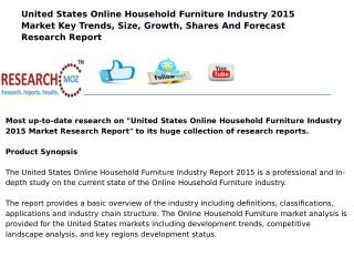 United States Online Household Furniture Industry 2015 Market Research Report