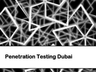 Penetration Testing Dubai