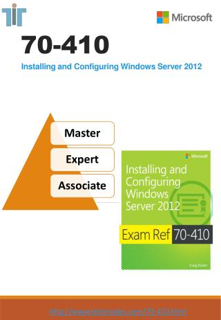 Microsoft Exam 70-410 VCE Braindumps