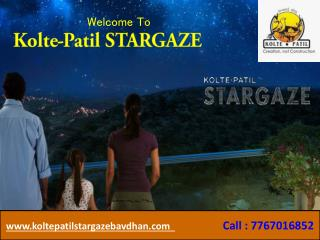 2 BHK Flats In Bavdhan -Kolte Patil StarGaze
