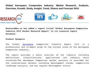 Global Aerospace Composites Industry 2015 Market Research Report