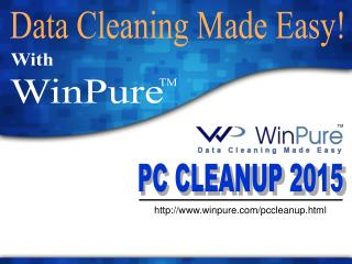 WinPure Computer Clean Up Software | Free Trial