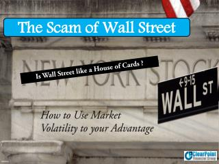 SCAM OF WALL STREET