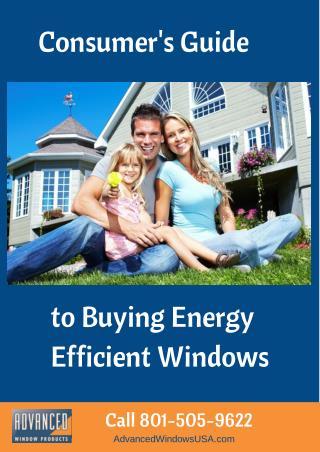 Advanced Window Products | Energy Savings