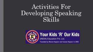 YKROK-Class Activities for Students
