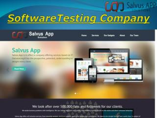 Software Testing Company in India