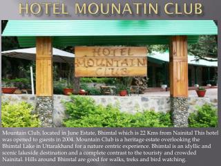 Hotel Mountain Club