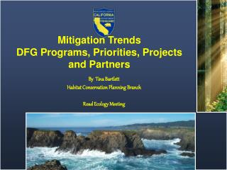 Mitigation Trends DFG Programs, Priorities, Projects and Partners