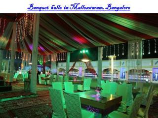 Banquet halls in Malleswaram, Bangalore