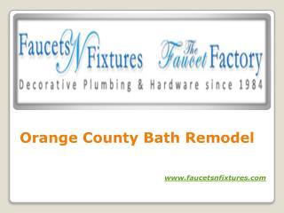 Orange County Bathroom Remodel