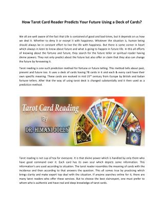 Online Tarot Card Reading Courses & Services | Tarotgyan