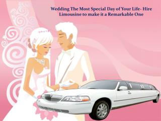 London Wedding Car Hire for Your Auspicious Day