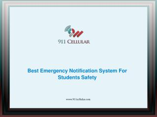 Best Emergency Notification System For Students Safety