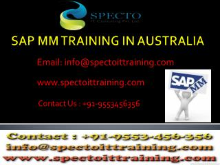 live online classes on sap mm by real time experts