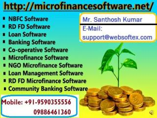 Loan Software, Co-Operative Software, Microfinance Software, Banking Software, RD FD Software