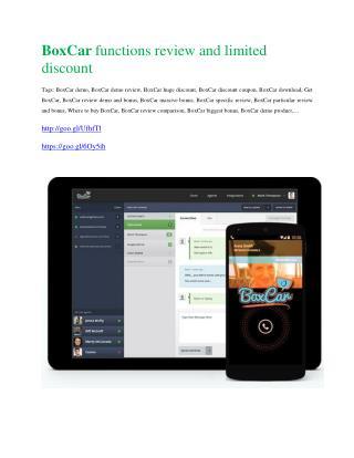 BoxCar Review - $9700 Bonus & 80% Discount