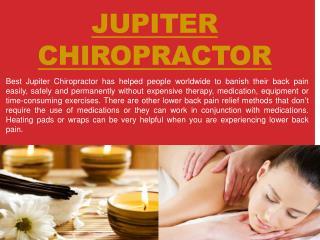 Chiropractor Jupiter