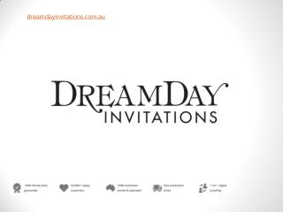 Customising Your Wedding Invitations and Theme - DreamDay Invitations