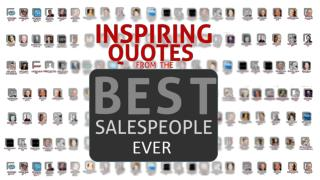 Inspiring Quotes from the Best Salesperson Ever - Thank You For Selling