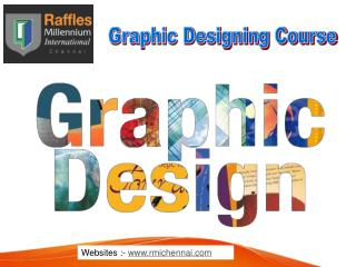 Graphic and Fashion Design Courses in Chennai